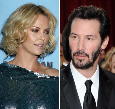 keanu reeves dating charlize theron 2012