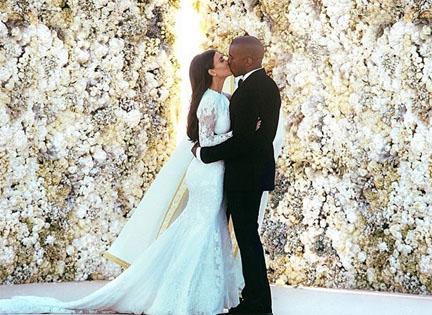 Kimkardashiankanyawestwedding
